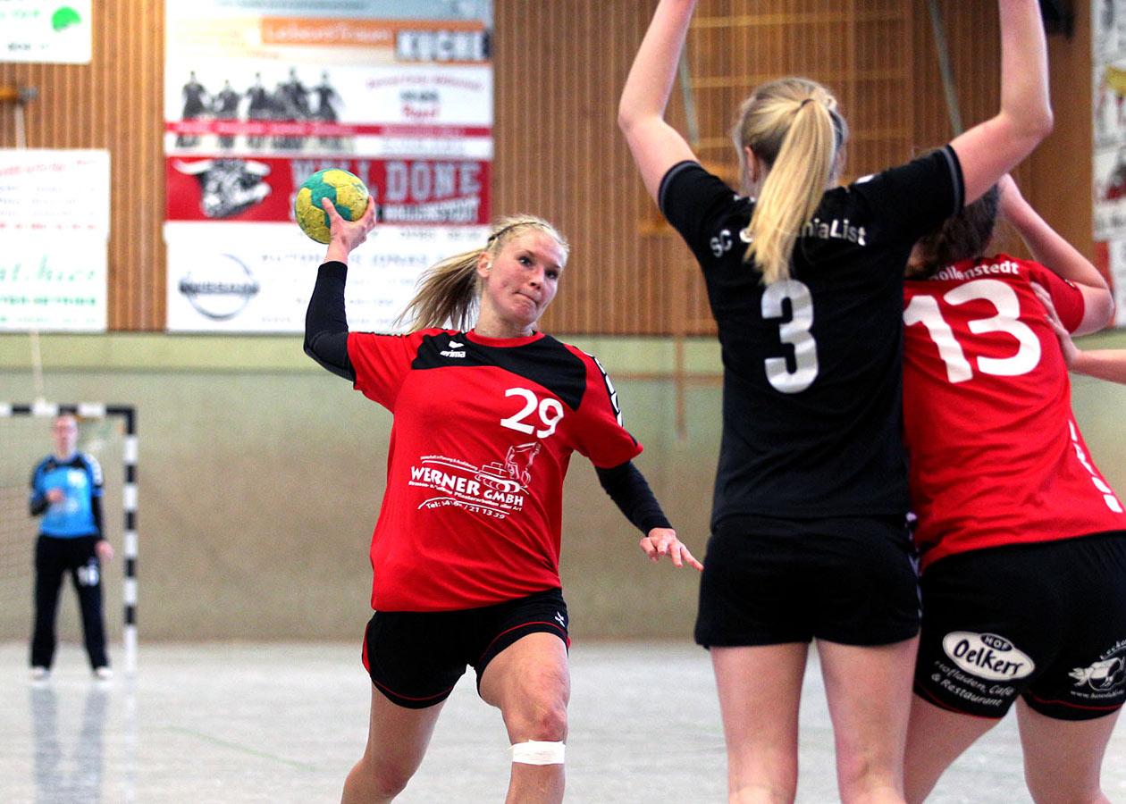 Wurftraining im Handball