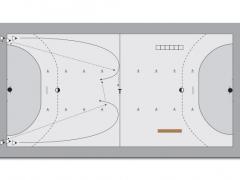 Grundspiel - 2 x 2 gegen 1 - Handball